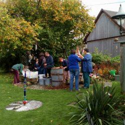 Workshop im Garten