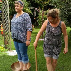 Seminar im Garten